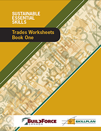 Trades Worksheets – Book One (Boilermakers, Bricklayers, Carpenters, Floor Covering Installers, Glaziers)