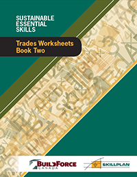 Trades Worksheets – Book Two (Heavy Equipment Operators, Insulators, Ironworkers, Painters and Decorators)